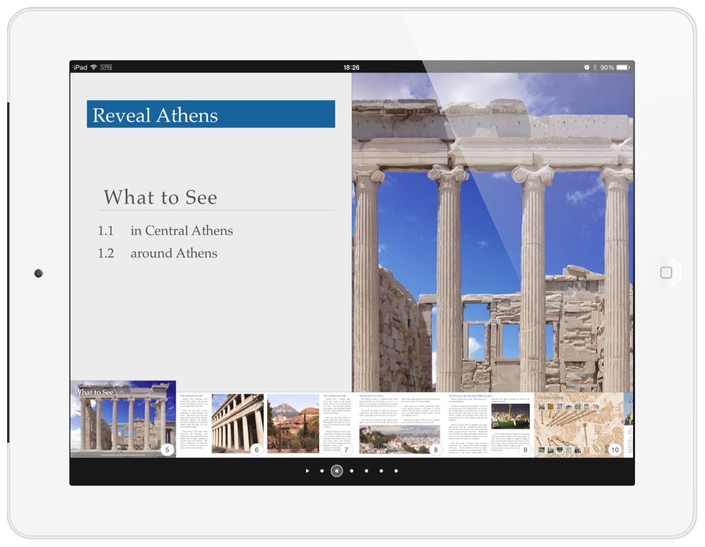INAOSSIEN - Reveal Athens iBook