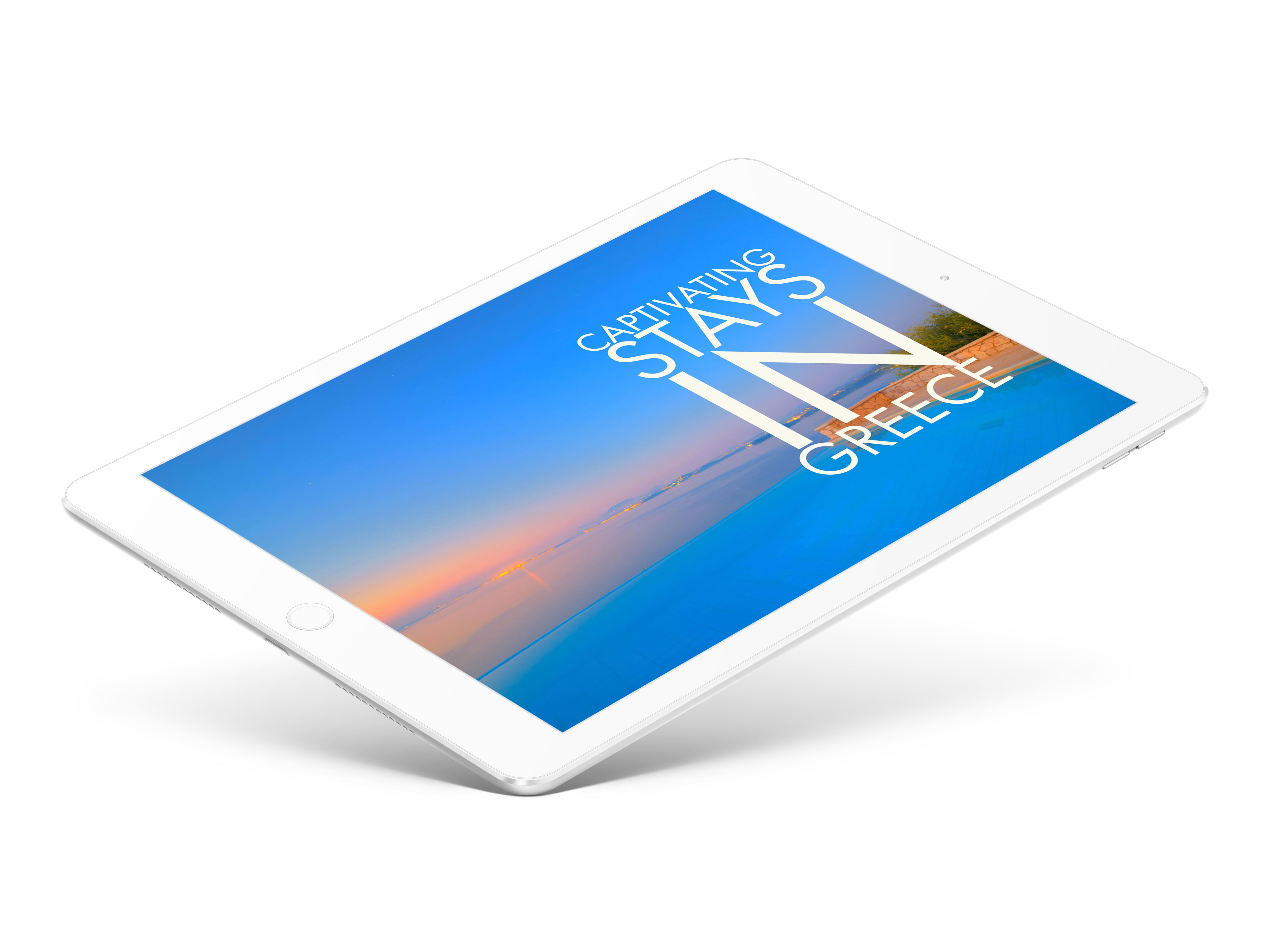 INAOSSIEN - 'Captivating Stays in Greece' iBook